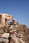 pietra nel deserto