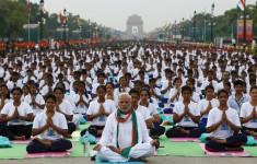 Giornata Internazionale dello Yoga 2015 - Nuova Delhi